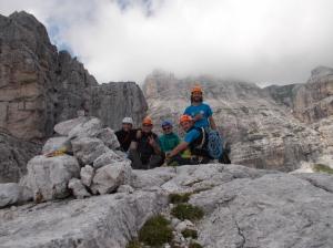 Sulla cima del Campanile di Villacco
