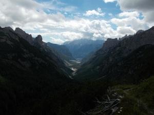 Val Cimoliana in tutta la sua grandezza
