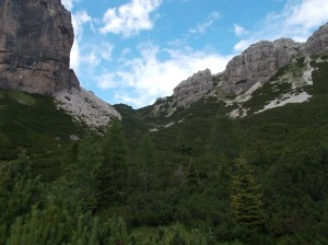 Verso forcella Urtisel