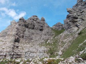 Incredibili formazioni rocciose delle cime Urtisel