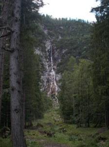 La stupenda cascata