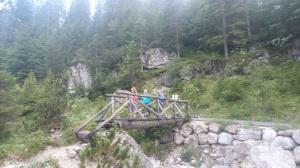 Ponte di legno, inizio del sentiero