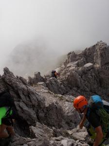 Brevi tratti di arrampicata elementare