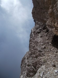 Fra roccia e vuoto