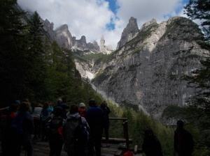 Campanile di Val Montanaia e la sua valle