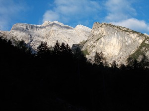 Cima Preti e cima Val del Drap
