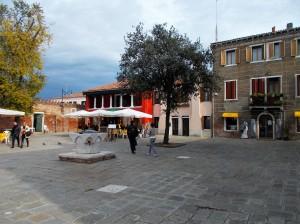 La piazza di Murano