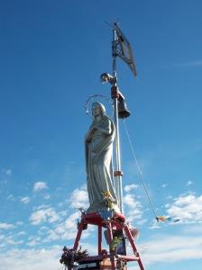 La Madonna posta sulla vetta