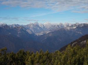 Ancora una magnifica vista verso le Dolomiti
