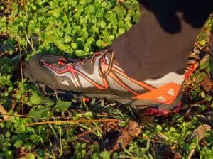 Testando le nuove scarpe