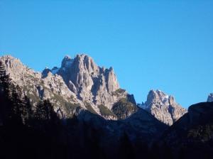 Tramonto sulle Dolomiti Friulane