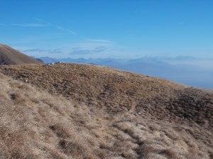 Fuori traccia verso cima Val Fredda