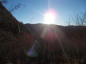 Il sole scalda quel che basta