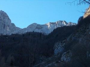 Val Piccola e le temute pareti