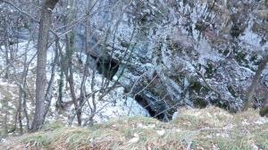 La forra del torrente Cunaz