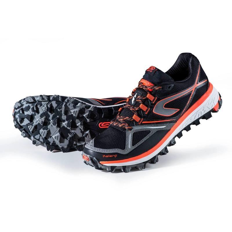 Kalenji Kiprun Trail Xt Waterproof Mens Trail Running Shoes Black